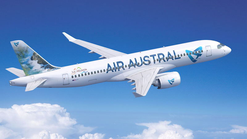Air Austral Orders Three Airbus A220s