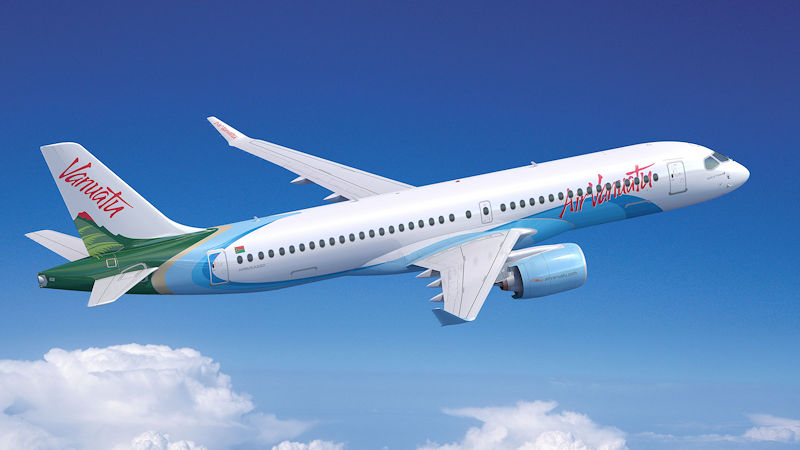 Air Vanuatu Adds Airbus A220s To Fleet