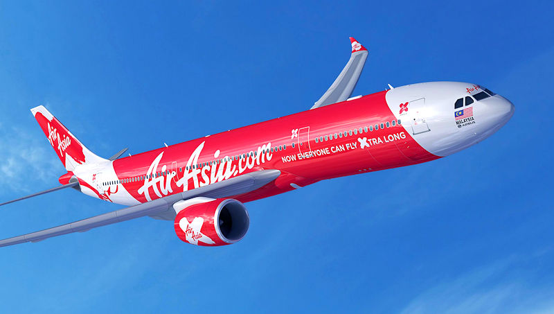 Airbus adds Airasia X A330neo order