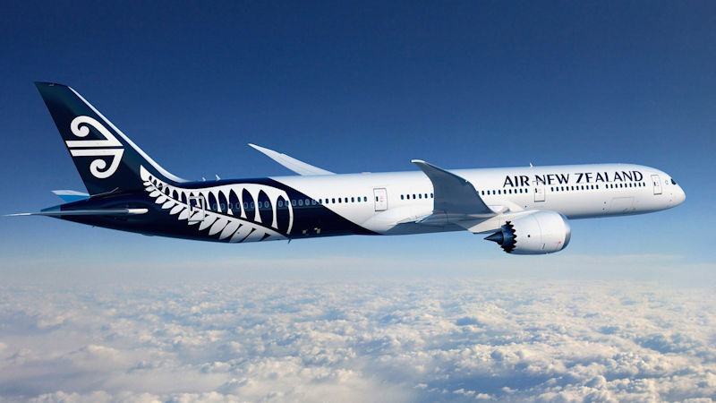 Air New Zealand Signs $2.7 Bn 787-10 Order