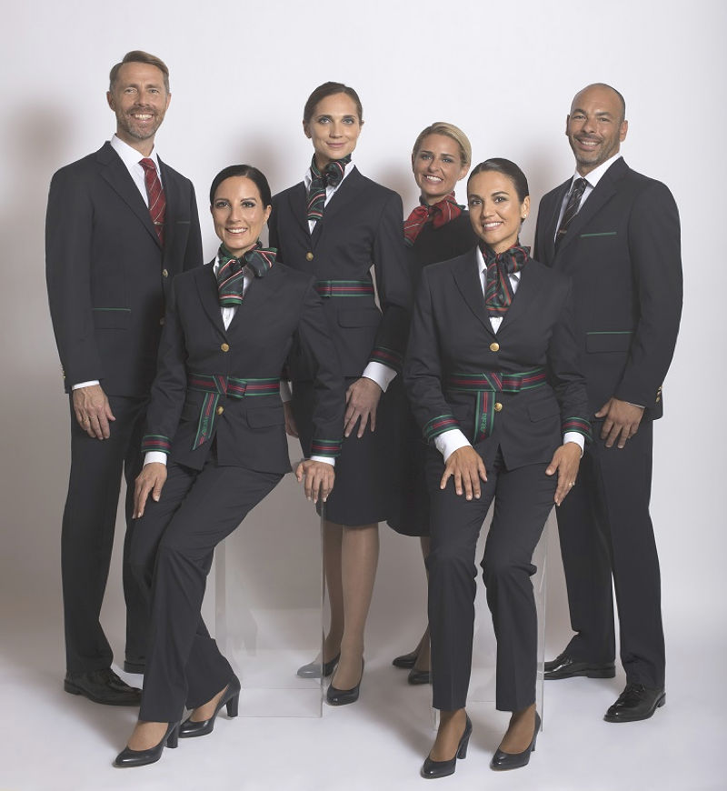 New Alitalia uniform