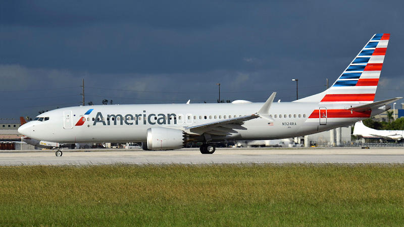 American Extends 737 MAX Cancellations
