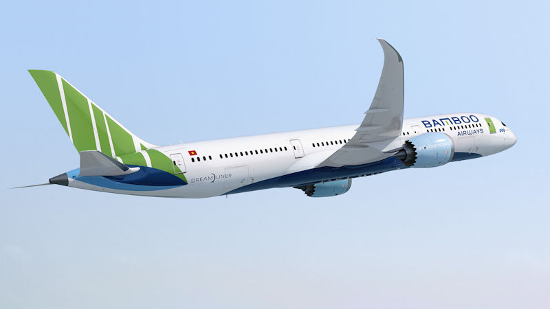 Bamboo Air Orders 10 787s in $3Bn Deal