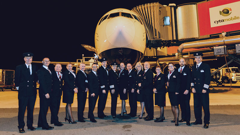 British Airways Crew Flying The Last Boeing 767 Flight