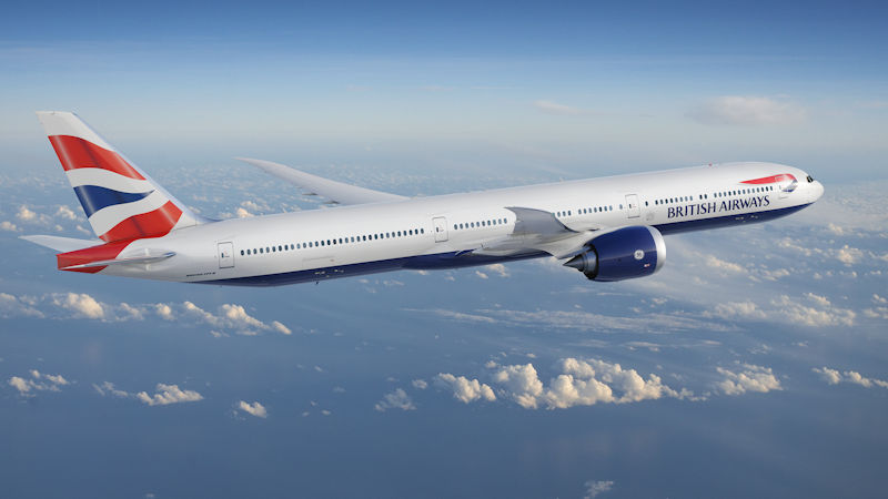 IAG To Order 18 777Xs For British Airways