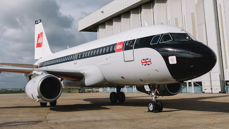 British Airways A319 Centenary Livery