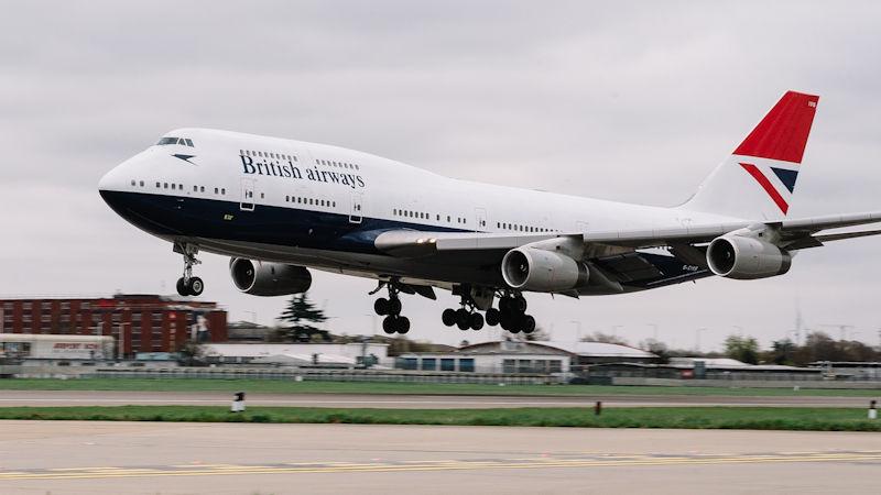 British Airways 747 Gets Final Heritage Livery