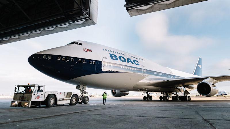 British Airways Celebrates Heritage With BOAC Livery