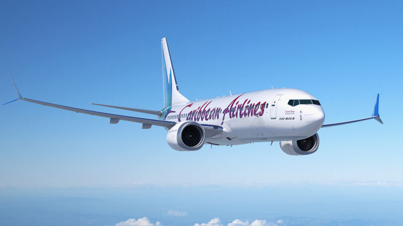 Caribbean Air Selects 737 MAX 8 For Fleet Renewal