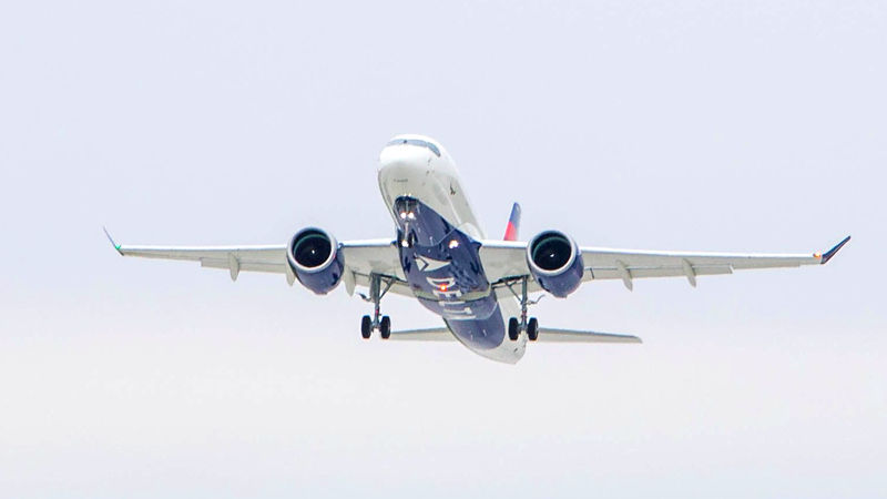 Delta's A220-100 Flies For The First Time
