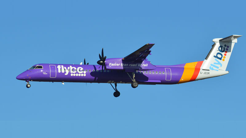 Flybe Says No Cancellations, Pulls Jet Services