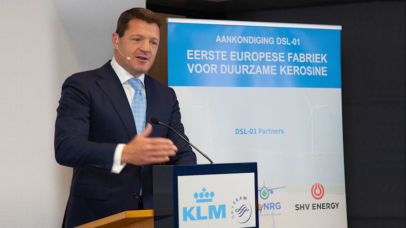 KLM Commits To Sustainable Aviation Fuel Deal