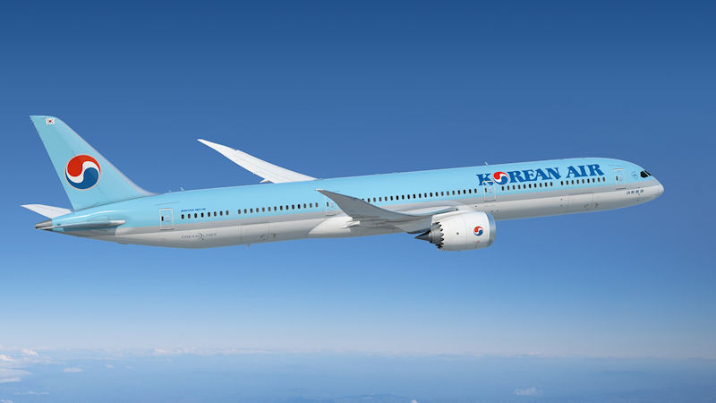 ​Korean Air Signs Order for 20 Boeing 787s