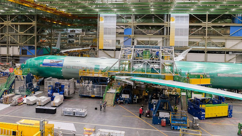 Lufthansa's First 777X Takes Shape