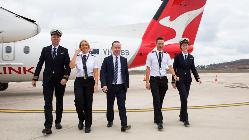Qantas Announces First Of Two Pilot Academies