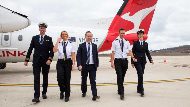 Qantas Announces First Of Two Pilot Academies