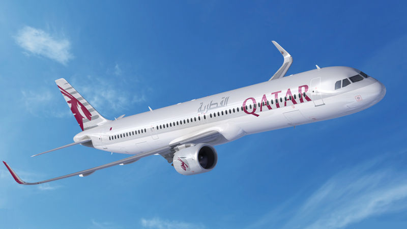 Qatar Airways Upgrades Part Order To A321LR