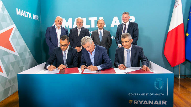 Ryanair To Buy Start Up Airline Malta Air