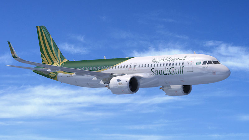 SaudiGulf Airlines Signs Up For 10 Airbus A320neos