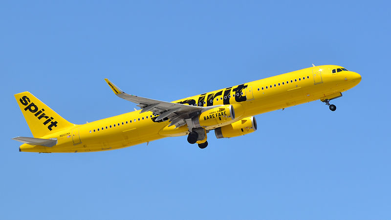 Spirit Airlines Signs for 100 Airbus A320s