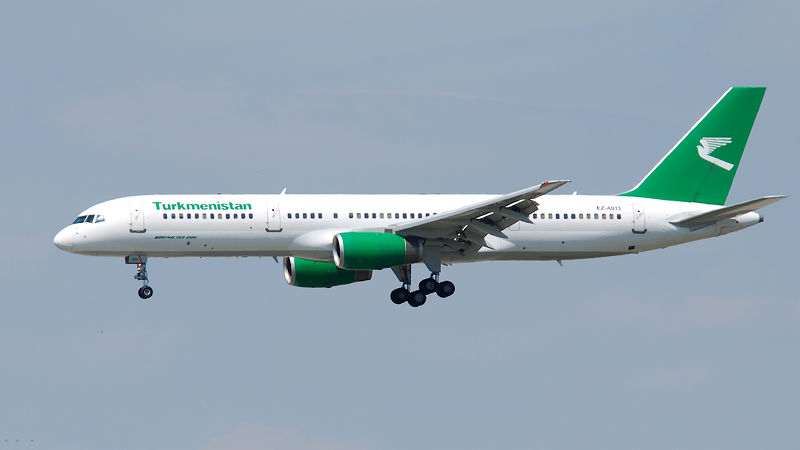Turkmenistan Airlines Suspended From Operating In EU