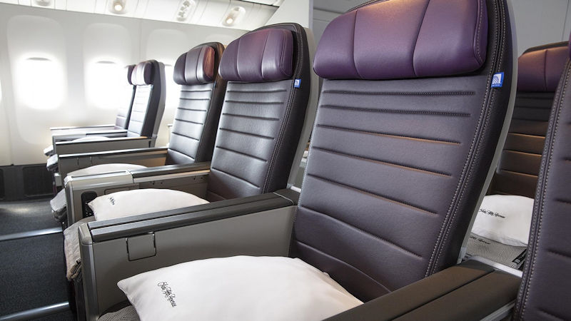 United Premium Economy Flights Go On Sale