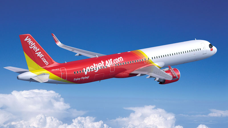 VietJet Adds to Airbus Fleet With 20 A321XLRs