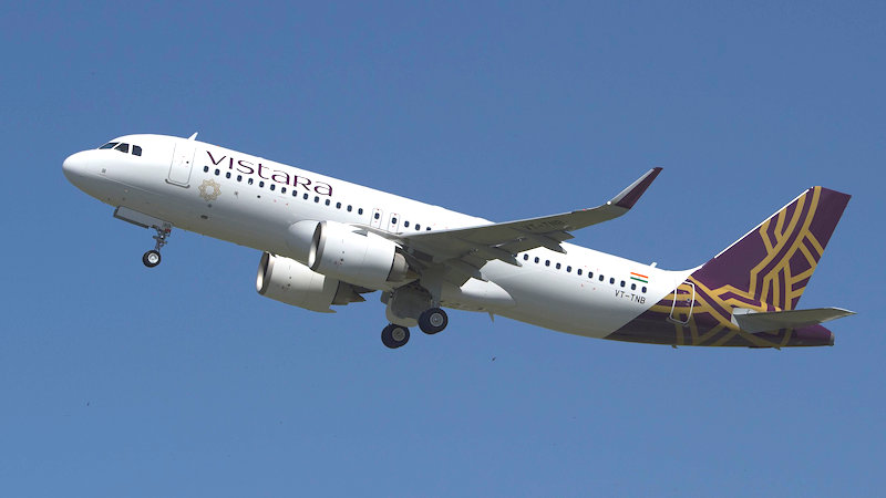 Vistara To Lease More A320neo-family Jets