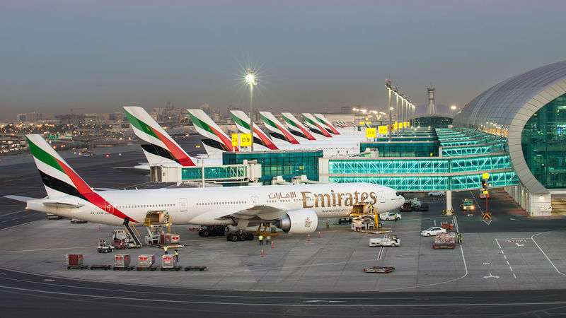 Dubai Airport Closes Runway For Maintenance