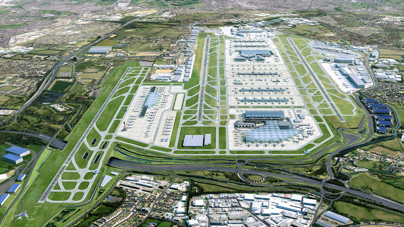 Heathrow Reveals Its Expansion Masterplan