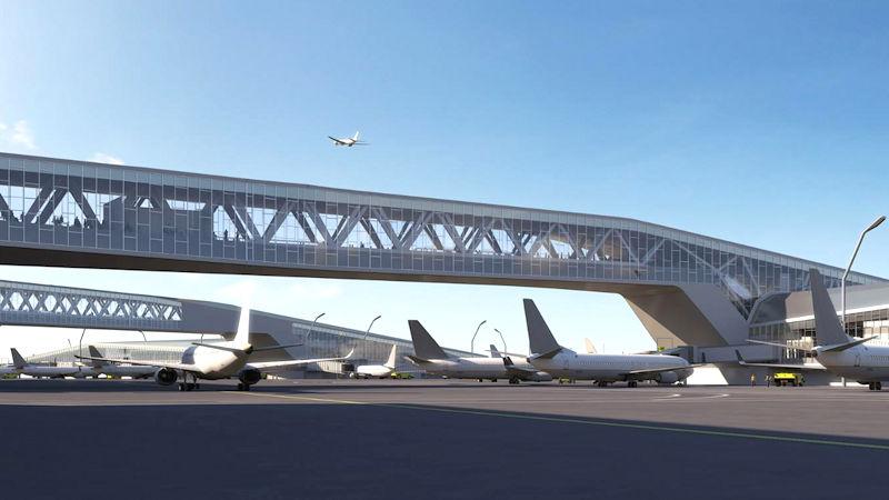 LaGuardia Airport Terminal B Pedestrian Bridges