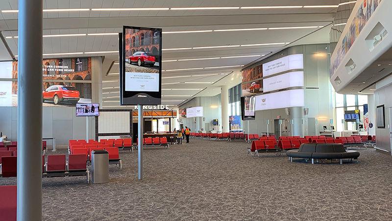 LaGuardia Airport Terminal B's New Concourse