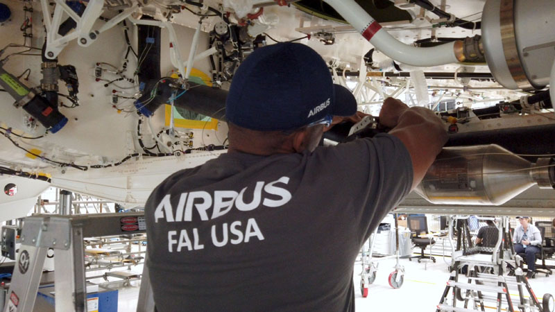 Airbus Begins US Production of A220s