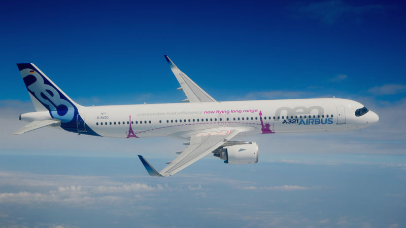 Airbus's Long Range A321neo Gains Dual Certification