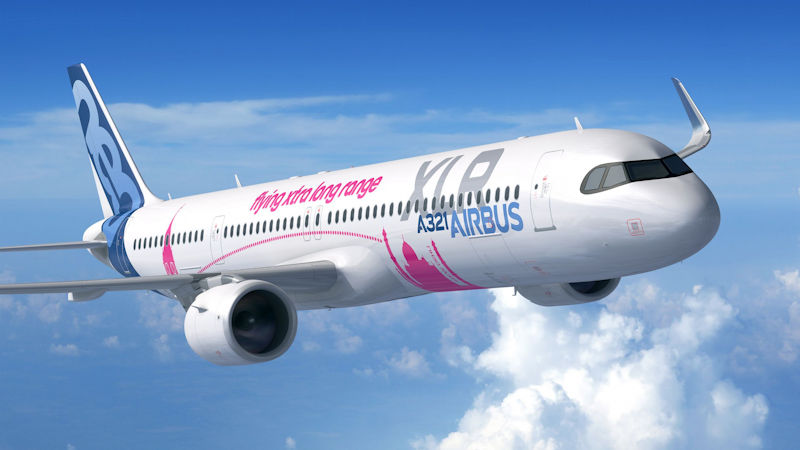 Airbus Launches Longer Range A321XLR, Air Lease Orders 27
