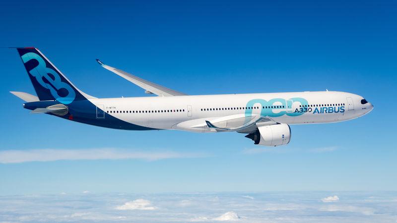 Airbus A330neo Gets Extended ETOPS Rating