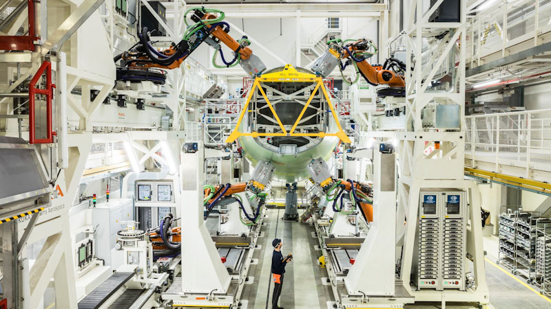 Airbus Introduces More Robots to Assembly Lines