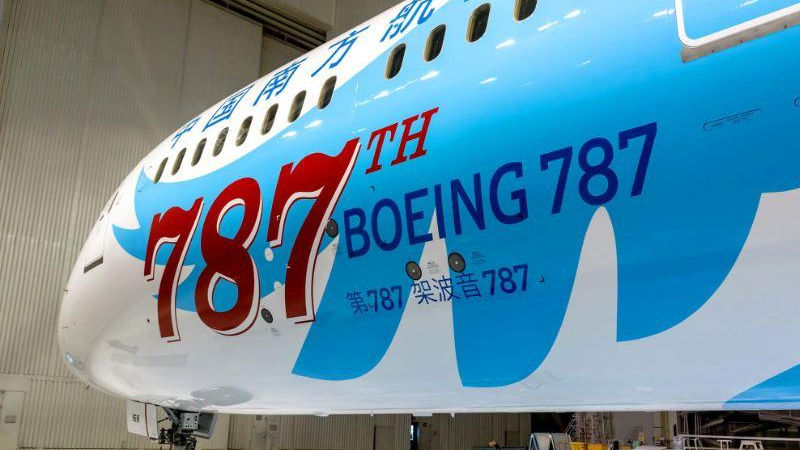 Boeing Sets New 806 Aircraft Delivery Record