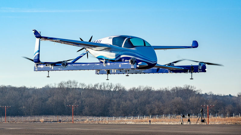 Boeing's Flying Taxi Completes First Flight