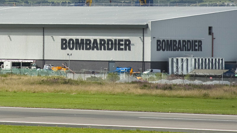 Bombardier To Cut 490 Jobs At Belfast Plant