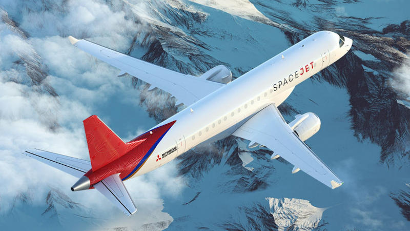 Mitsubishi's Regional Jet Rebrands As SpaceJet