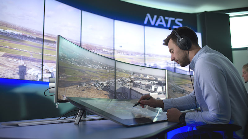 NATS Digital Tower Laboratory at Heathrow
