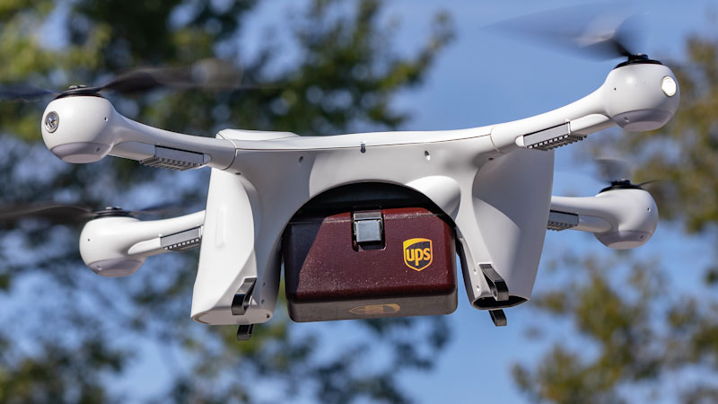 UPS Gets FAA Approval for Drone Airline