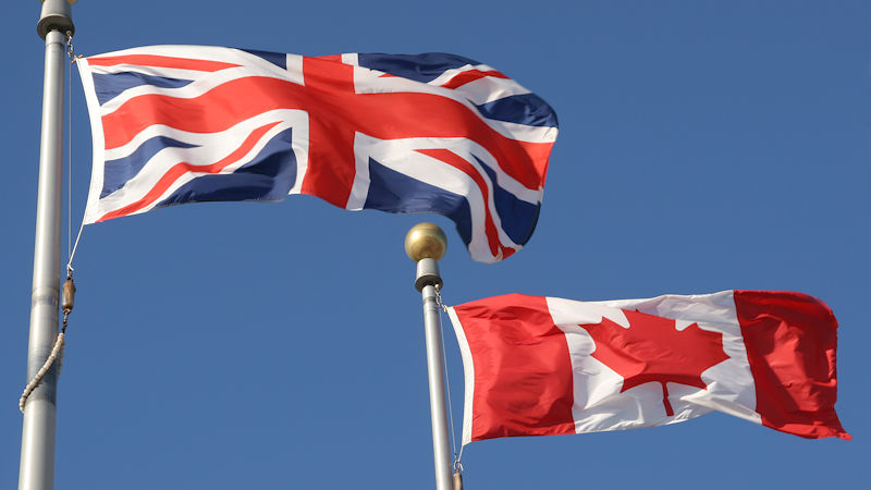 UK, Canada Agree Post-Brexit Air Deal