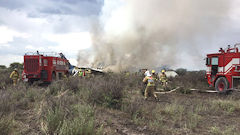 Mexican Plane Crashes, No Fatalities Reported
