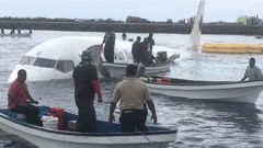 Air Niugini Plane Crashes Into Sea In Micronesia