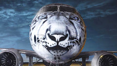 Air Astana Shows Off Its New Snow Leopard