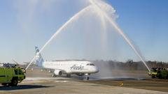 Alaska Air Starts Paine Field Flying