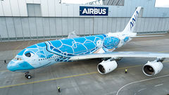 First Look At ANA's Flying Honu Airbus A380