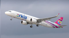 Arkia Receives First Long Range Airbus A321LR